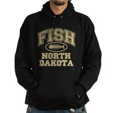 Fish North Dakota Hoodie