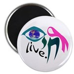 "Chai Breast Cancer Awareness 2.25"" Magnet (100 pac"