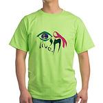 Chai Breast Cancer Awareness Green T-Shirt
