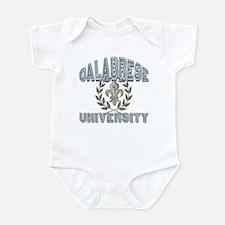 Calabrese Last Name University Infant Bodysuit