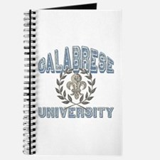 Calabrese Last Name University Journal
