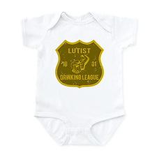 Lutist Drinking League Infant Bodysuit