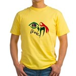 Chai HIV / AIDS Awareness Yellow T-Shirt