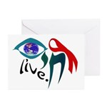 Chai HIV / AIDS Awareness Greeting Cards (Package