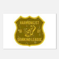Harmonicist Drinking League Postcards (Package of