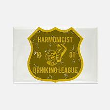 Harmonicist Drinking League Rectangle Magnet