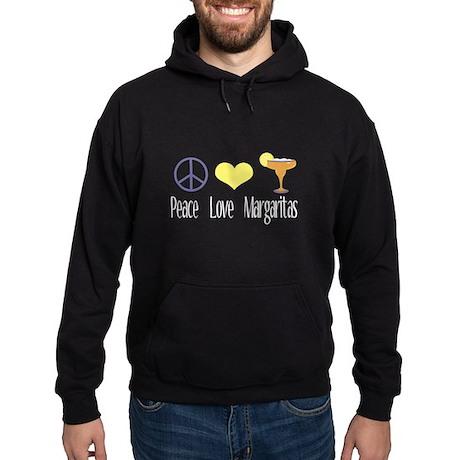 Peace Love Margaritas Hoodie (dark)