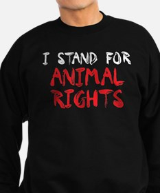 Animal rights Sweatshirt (dark)