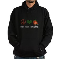 Peace Love Thanksgiving Hoodie