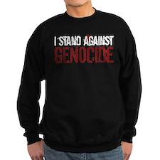 I Stand Against Genocide Sweatshirt