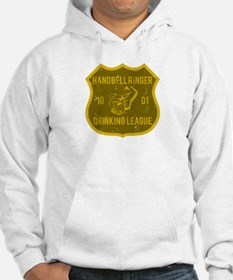 Handbell Ringer Drinking League Jumper Hoody