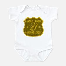 Handbell Ringer Drinking League Infant Bodysuit