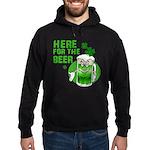 Here For The Beer! Hoodie (dark)