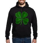 Lucky Four Leaf Clover Hoodie (dark)