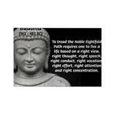 Gautama Siddhartha (Buddha) Rectangle Magnet