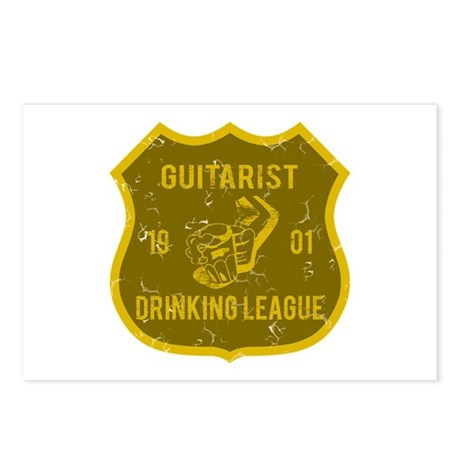 Guitarist Drinking League Postcards (Package of 8)