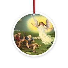 Angel Ornament (Round)