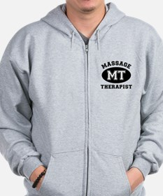 Massage Therapist (MT) Zip Hoodie