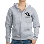 Don't Annoy The Crazy Person Women's Zip Hoodie