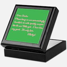 Twilight Edward Christmas Keepsake Box