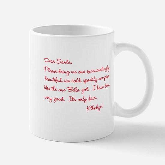 Twilight Edward Christmas Mug