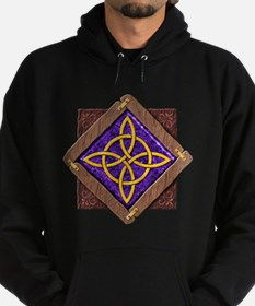 3-D Witches Knot Hoodie (dark)