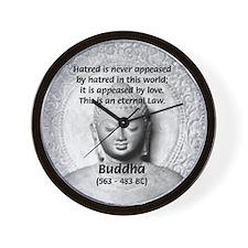 Buddhism Philosophy of Love Wall Clock