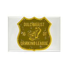 Dulcimerist Drinking League Rectangle Magnet