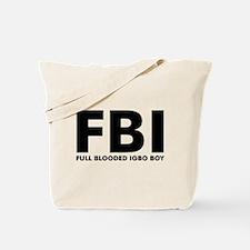 Full Blooded Igboboy Tote Bag