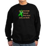 Brain Injury Month Sweatshirt (dark)