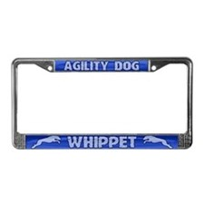 Agility Whippet License Plate Frame
