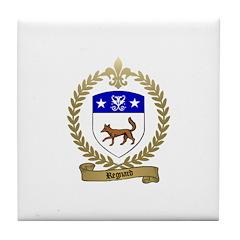 REGNARD Family Crest Tile Coaster