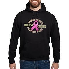 Breast Cancer Month Hoodie (dark)