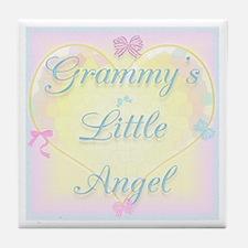 Grammy's Little Angel Tile Coaster