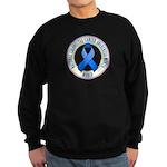 Colorectal Cancer Month Sweatshirt (dark)