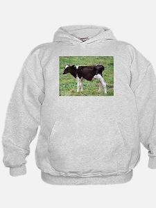 holstein calf Hoodie