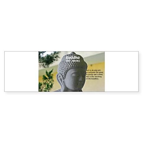 Eastern Philosophy: Buddha Bumper Sticker