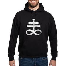 Pontifical Cross of Satan Hoodie