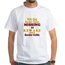 Wife & Border Collie Missing Shirt