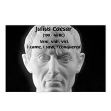 Great Roman: Julius Caesar Postcards (Package of 8