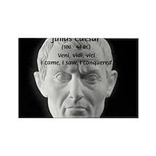 Great Roman: Julius Caesar Rectangle Magnet