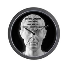 Great Roman: Julius Caesar Wall Clock
