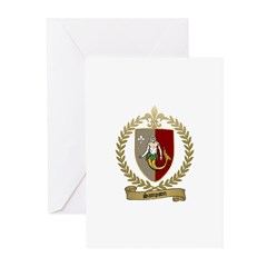 SAMPSON Family Crest Greeting Cards (Pk of 10)