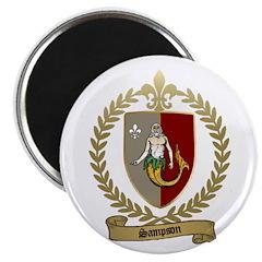 SAMPSON Family Crest Magnet