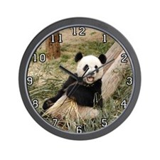 Giant Panda Bear 001 Wall Clock