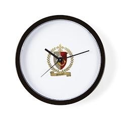 SAMPSON Family Crest Wall Clock