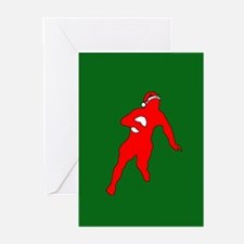 Rugby Christmas Greeting Cards (Pk of 20)