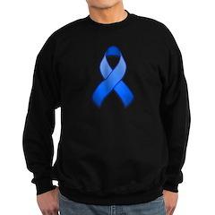 Blue Awareness Ribbon Sweatshirt