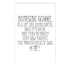 Nursing School like Birth Postcards (Package of 8)