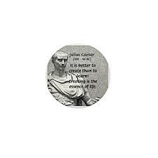 Roman Conqueror: Julius Caesar Mini Button